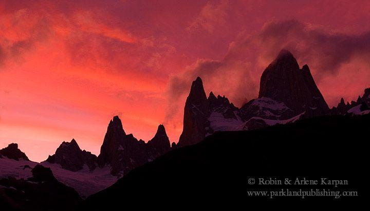 Mount Fitzroy sunset