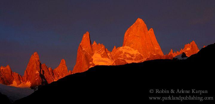 Mount Fitzroy sunrise
