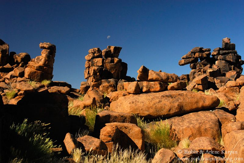 Boulders at Giant's Playground, Namibia