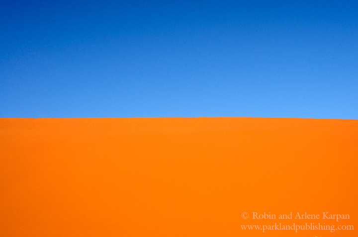 Dune and Sky, Namibian desert