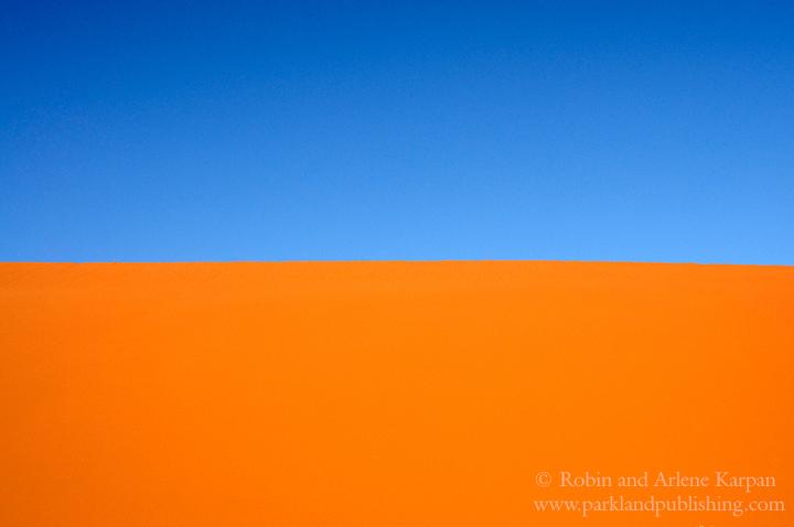 Dune and Sky, Namibian desert
