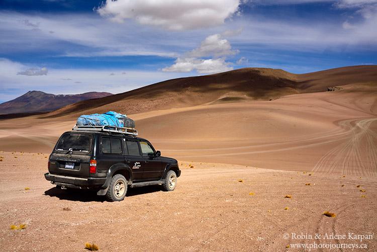 desert trails, southern Bolivia