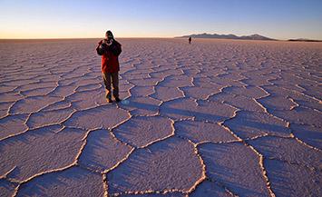 Uyuni salt lake Bolivia