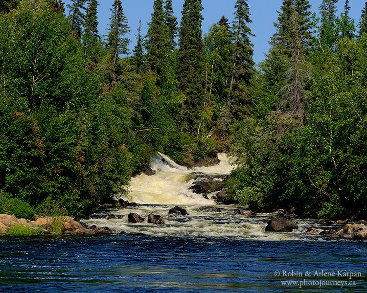 Bulyea Falls