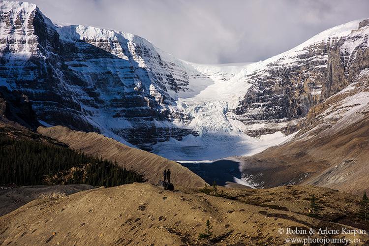 Snow Dome Glacier Columbia Icecifields