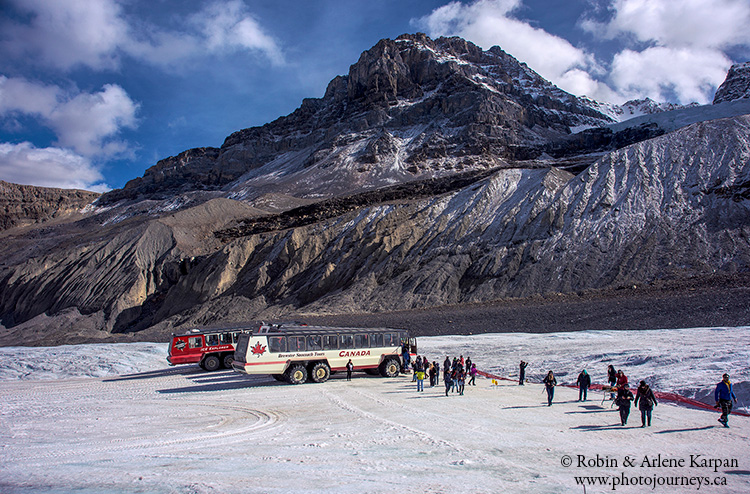 Columbia Icefield athabasca glacier