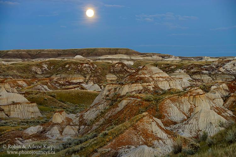 Valley of the Moon, Dinosaur Provincial Park, Alberta
