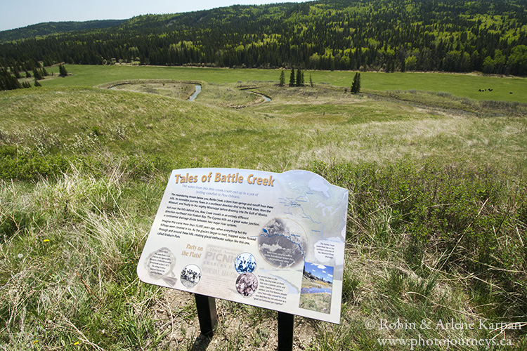 Battle Creek Valley, Cypress Hills, Alberta