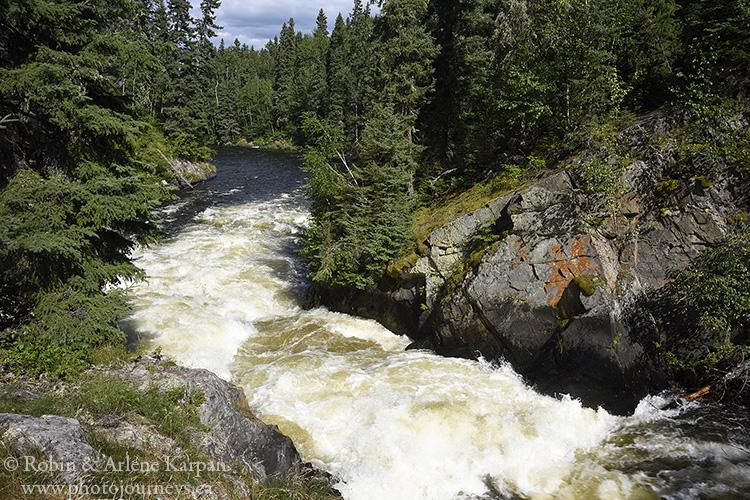 Wekusko Falls, Wekusko Falls Provincial Park, Manitoba