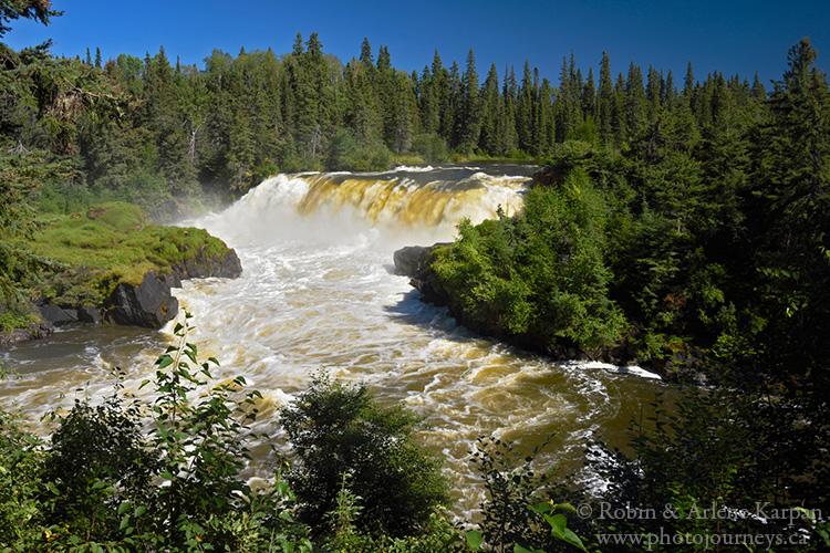 Pisew Falls, Pisew Falls Provincial Park, Manitoba
