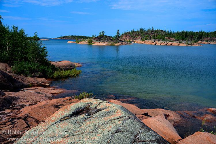 Cameron Channel, Lake Athabasca, Saskatchewan