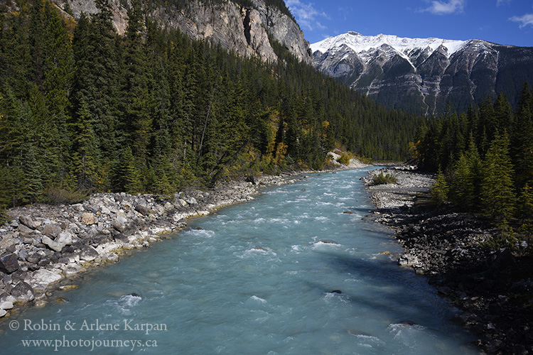 Kicking Horse River, Yoho National Park, British Columbia.