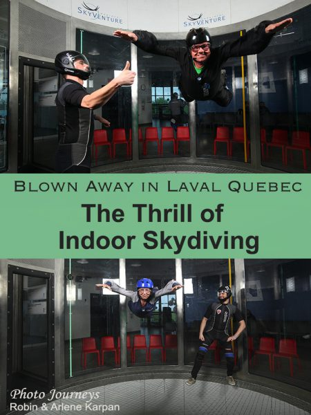Blog post, The Thrill of Indoor Skydiving
