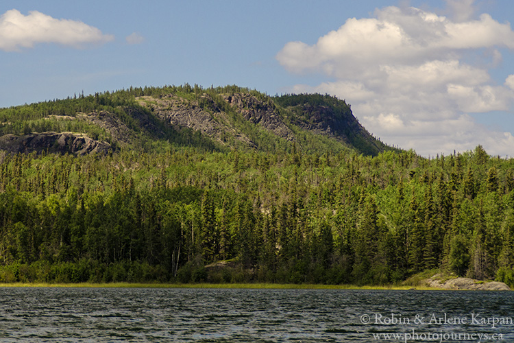 Beaverlodge Mountain, north shore Lake Athabasca, Saskatchewan