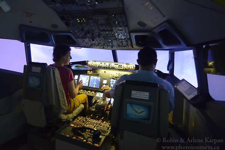 737 flight simulator