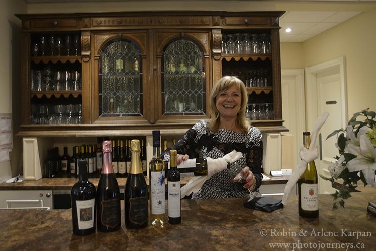 Wine tasting at Château Taillefer Lafon