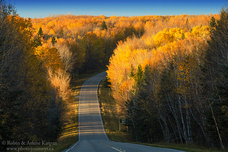 Scenic Highway #263, Prince Albert National Park
