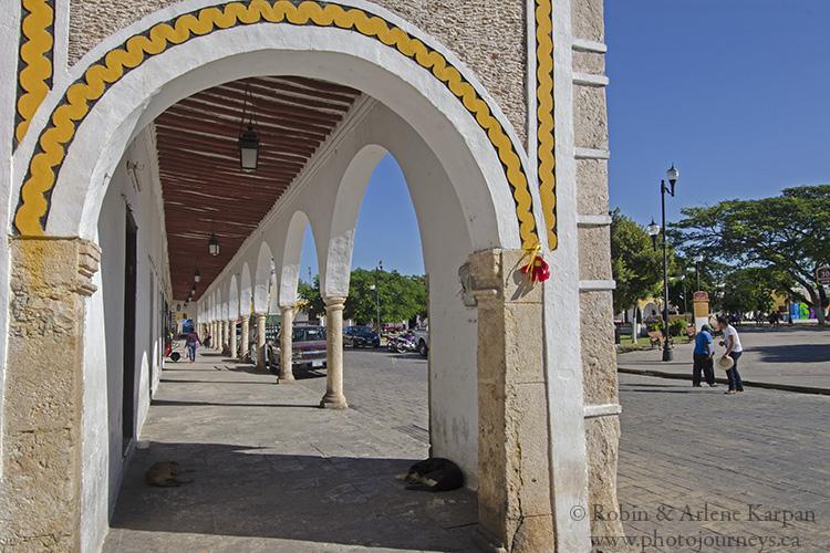 Central area, Izamal