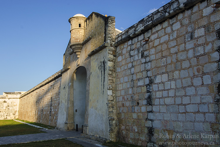 Fortified city walls, Campeche