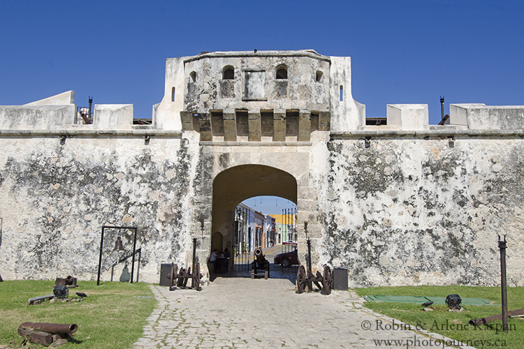 Land Gate, or Tierra Gate, Campeche