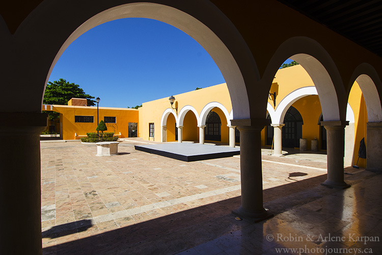 Courtyard, Archives building, Campeche