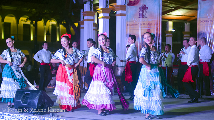 Folkloric dancing, Campeche