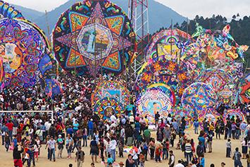 Kite festival, Sumpango, Guatemala.