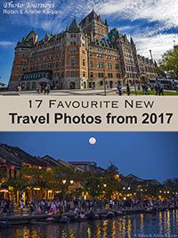 Travel photos blog