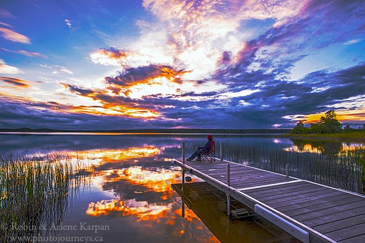 First Mustus Lake, Meadow Lake Provincial Park.