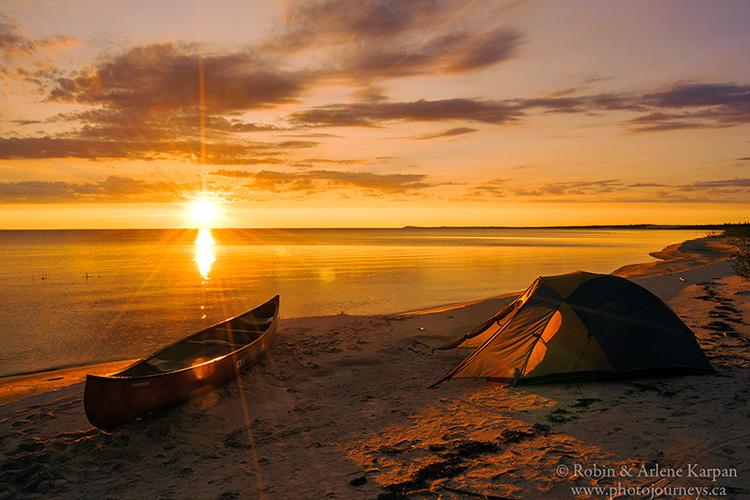 South shore Lake Athabasca, Athabasca Sand Dunes