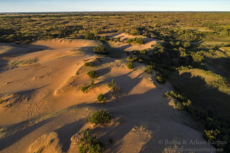 Sand dunes, Douglas Provincial Park