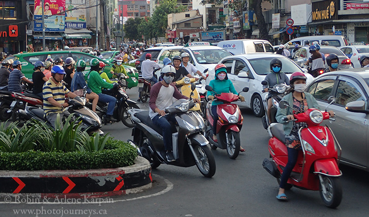 Traffic, Saigon, Vietnam