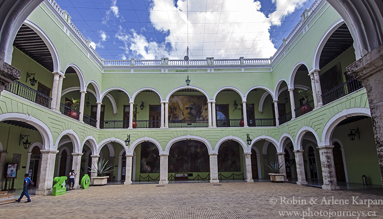 Governor's Palace, Merida, Mexico