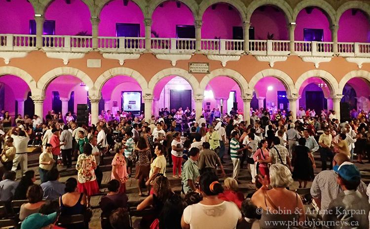 Dancing, Merida, Mexico