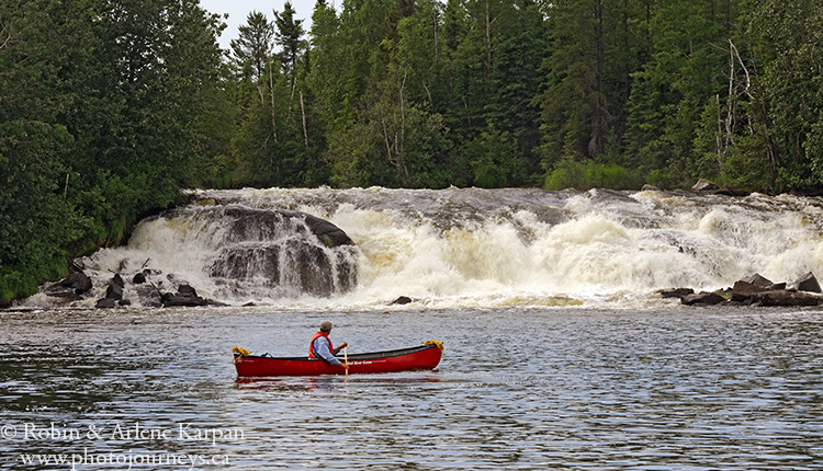 Wapiskau River, Saskatchewan