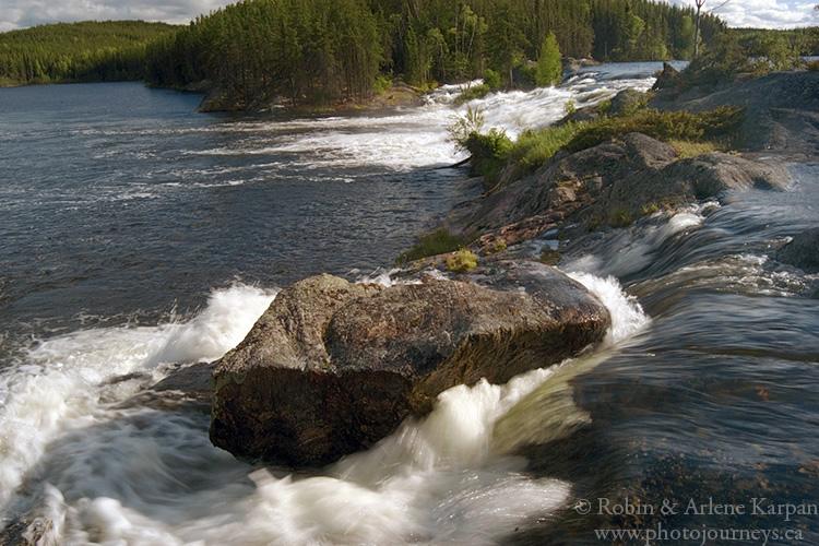 Tuck Falls, Paull River, Saskatchewan