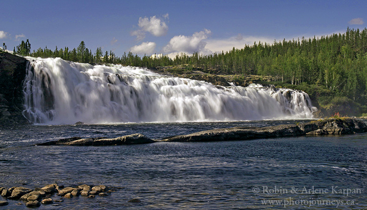 Hunt Falls, Grease River, Saskatchewan