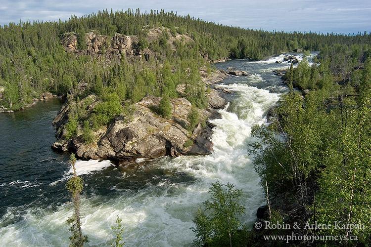Majestic Falls, Porcupine River, Saskatchewan