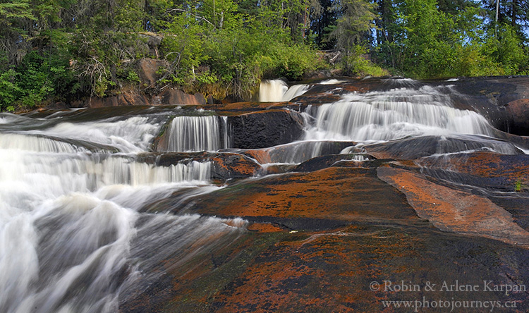 Smoothrock Falls, Clearwater River, Saskatchewan