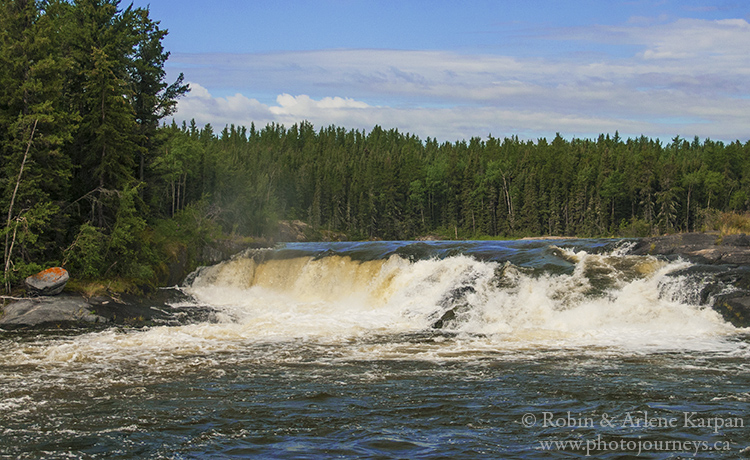 Kettle Falls, Churchill River, Saskatchewan