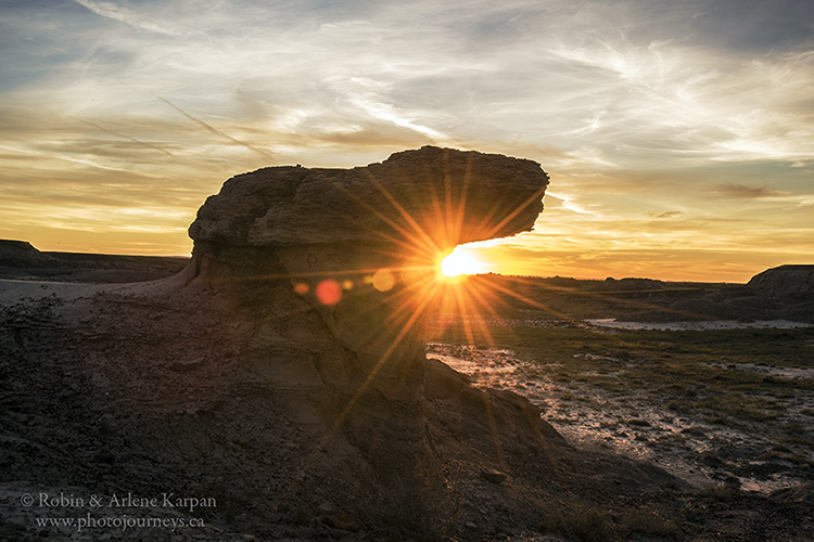 Avonlea Badlands, Saskatchewan