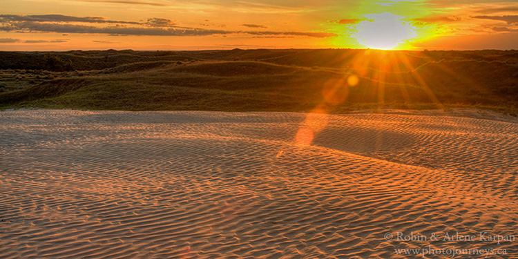 Great Sand Hills, Saskatchewan