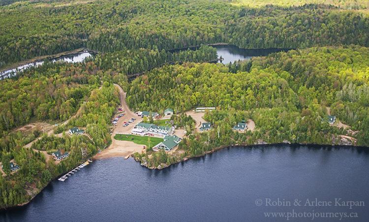Pourvoirie du Lac Blanc, Quebec