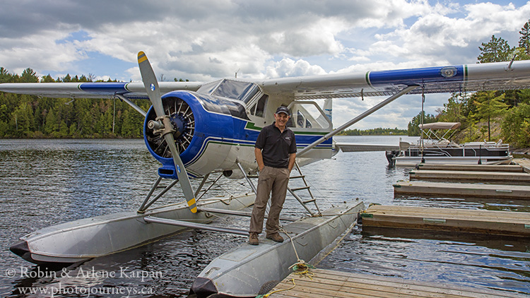 Float plane, Quebec