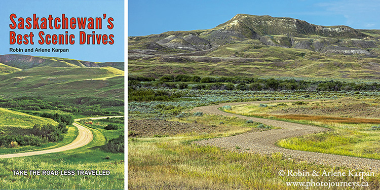 Book cover Saskatchewan's Best Scenic Drives